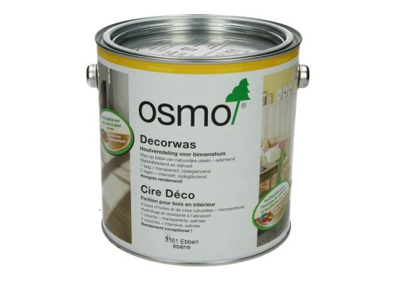 OSMO Decorwas TR3161 Ebbenhout 2,5L