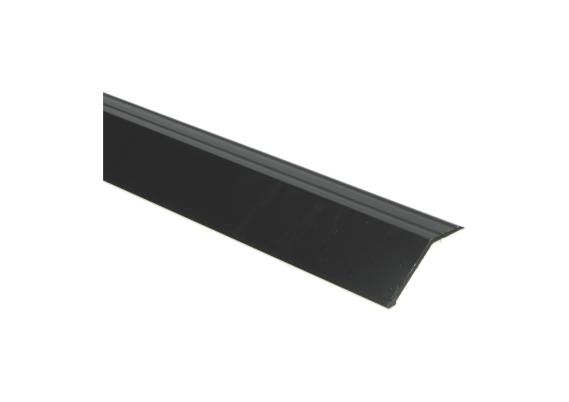 Overgangsprofiel zelfkl. 22 mm alu zwart