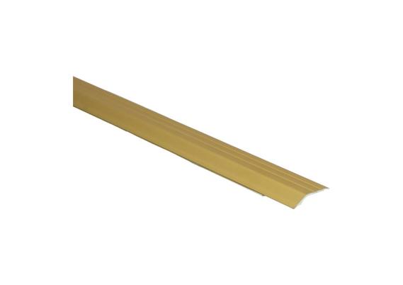 Overgangsprofiel zelfkl. 5 mm alu goud
