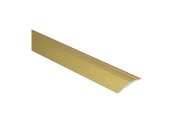 Overgangsprofiel zelfkl. 8 mm alu goud