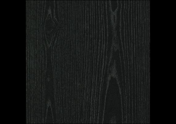 Rechte folieplint 70x14 zwart