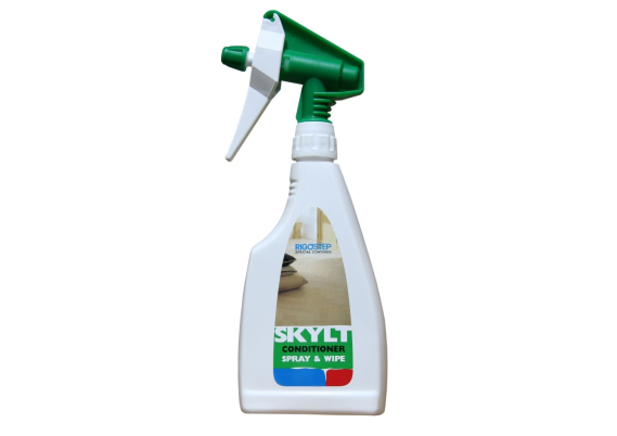 Rigostep skylt conditioner spray