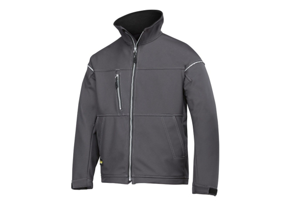 Soft Shell Jacket staal grijs L