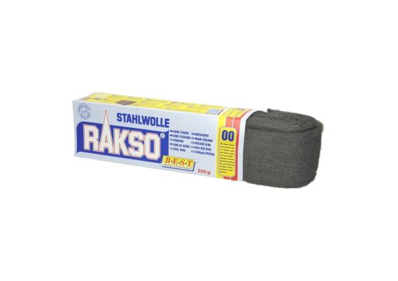 Staalwol fijn (00) rol a 200 gram