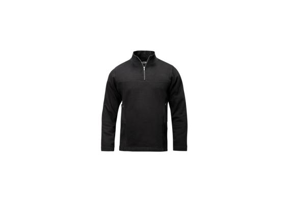 Sweater met rits zwart maat XS