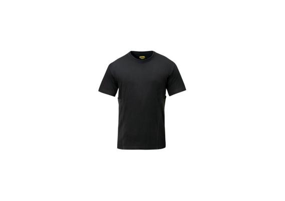 T-shirt zwart maat L