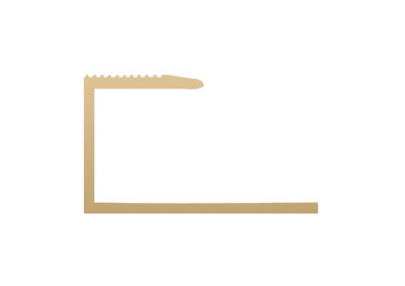 U-profiel 15,6 mm goud