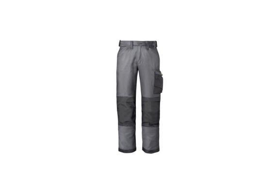 Werkbroek gem. grijs/zwart mt.42