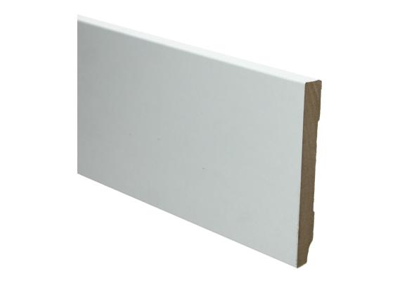 Whiteline plint recht 78x18 hoogglans wit folie