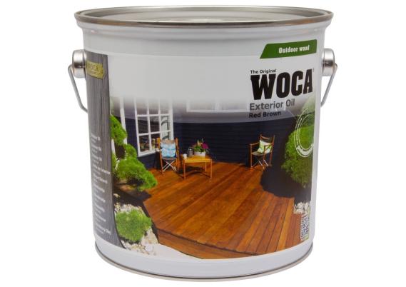 WOCA Exterior Oil Roodbruin 2,5 L