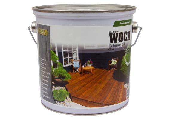 WOCA Exterior Oil Zoutgroen 2,5 L