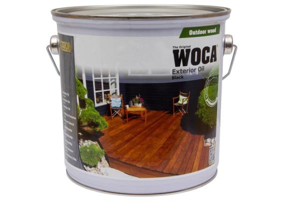 WOCA Exterior Oil Zwart 2,5 L
