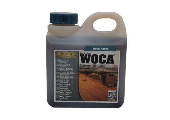 WOCA Master Colour Oil 101 light brown 1 L