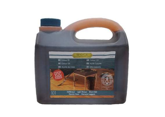 WOCA Master Colour Oil 101 light brown 2,5 L