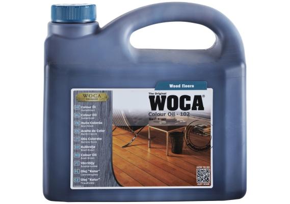 WOCA Master Colour Oil 102 brasil brown 1 L