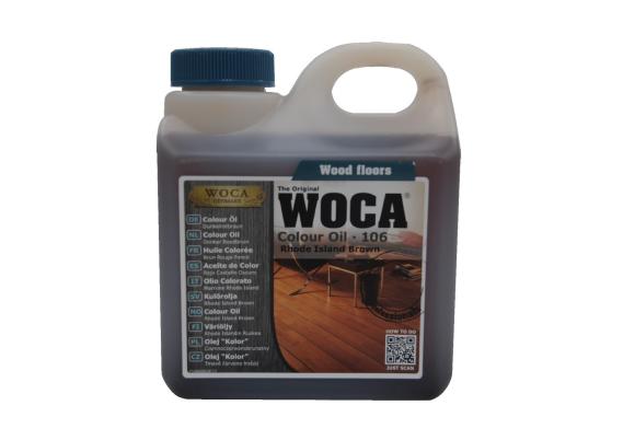 WOCA Master Colour Oil 106 rhode island brown 1 L