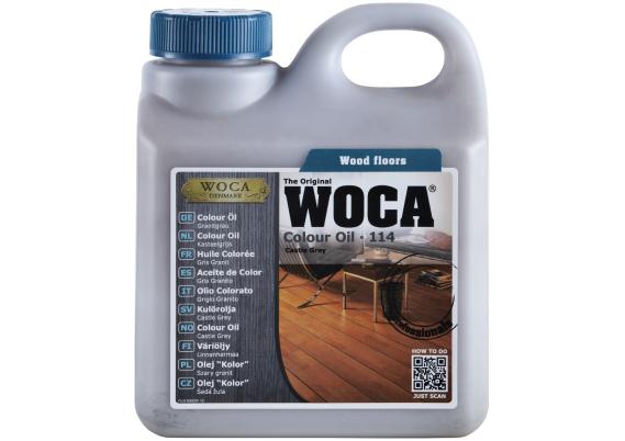 WOCA Master Colour Oil 114 castle grey 2,5 L