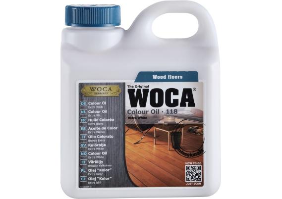 WOCA Master Colour Oil 118 extra wit 1 L