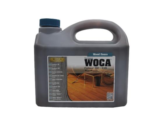 WOCA Master Colour Oil 119 walnoot 2,5 L