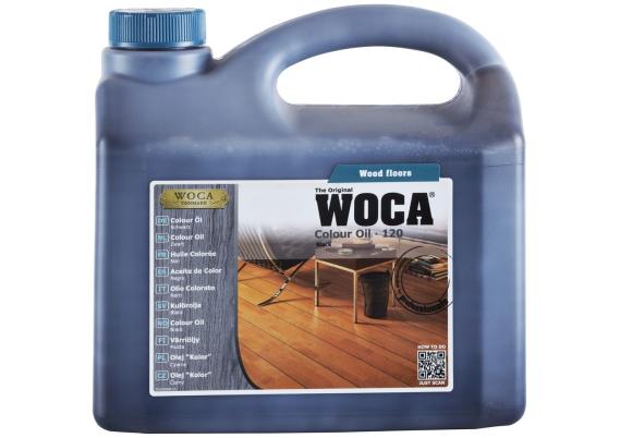 WOCA Master Colour Oil 120 black 1 L