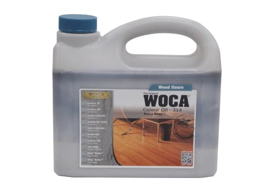 WOCA Master Colour Oil 314 extra grey 2,5 L