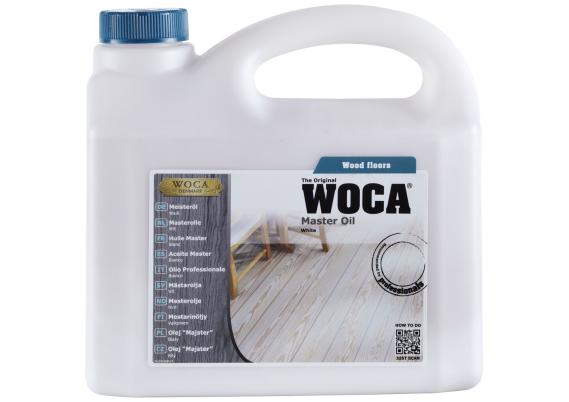 WOCA Master Colour Oil wit 2,5 L