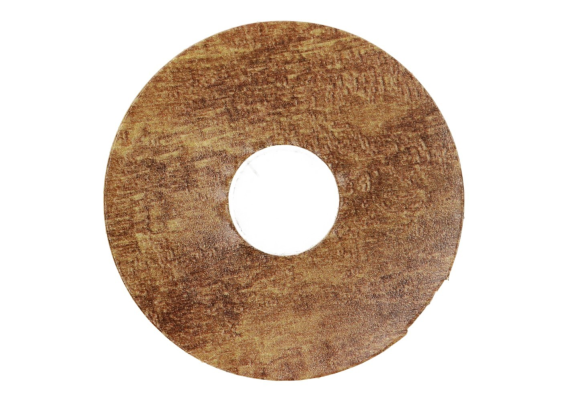 Zelfklevende rozet (17 mm) East. Hickory light (10 st.)
