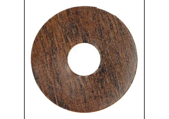 Zelfklevende rozet (17 mm) Eastern Hickory dark (10 st)