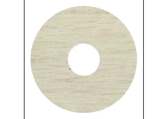 Zelfklevende rozet (17 mm) eiken polar (10 st.)