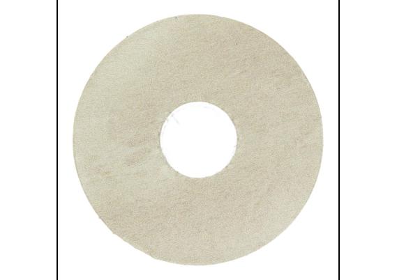 Zelfklevende rozet (17 mm) Jazz white (10 st.)