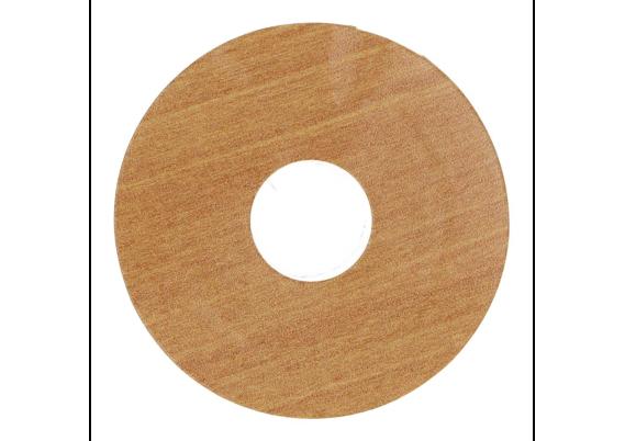 Zelfklevende rozet (17 mm) kersen licht (10 st.)