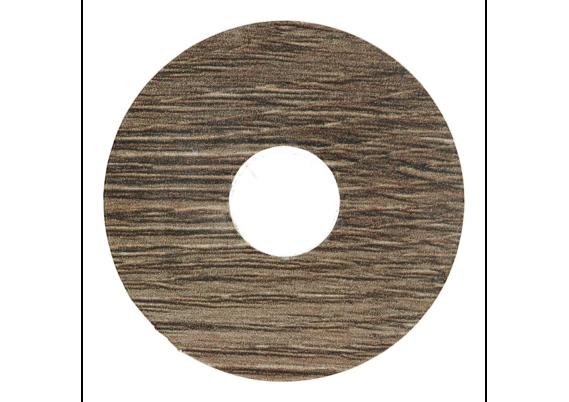 Zelfklevende rozet (17 mm) Mountain Oak black (10 st.)
