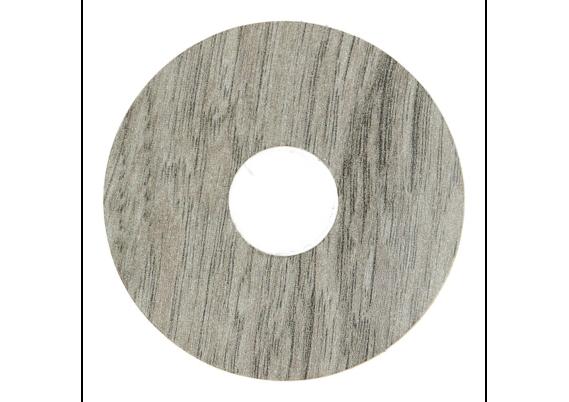 Zelfklevende rozet (17 mm) Mountain Oak grey (10 st.)