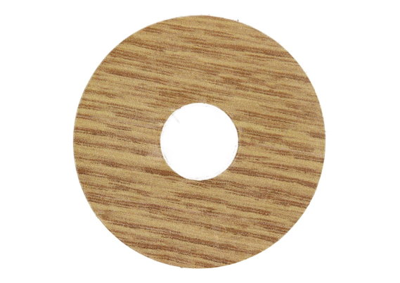Zelfklevende rozet (17 mm) roussillon eiken (10 st.)