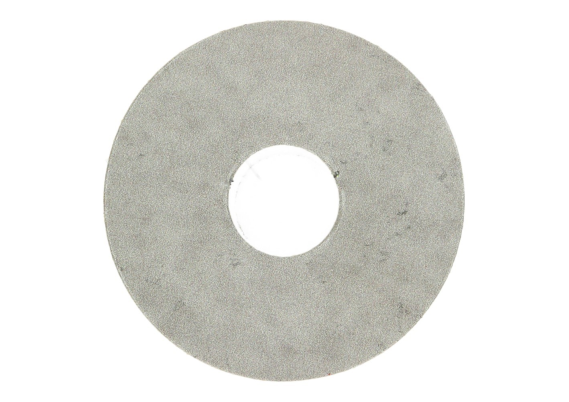 Zelfklevende rozet (17 mm) tegel grijs (10 st.)