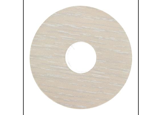 Zelfklevende rozet (17 mm) xenon (10 st.)