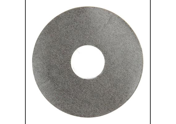 Zelfklevende rozet (17 mm) zand donker (10 st.)