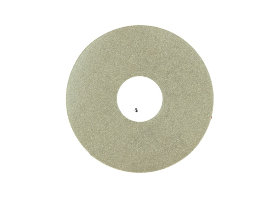 Zelfklevende rozet (17 mm) beige beton donker (10 st.)