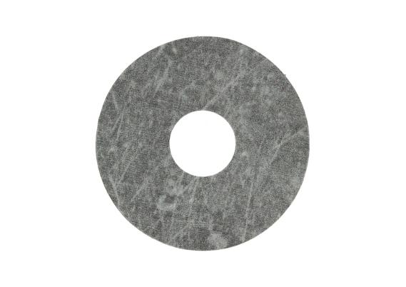Zelfklevende rozet (17 mm) beton donkergrijs