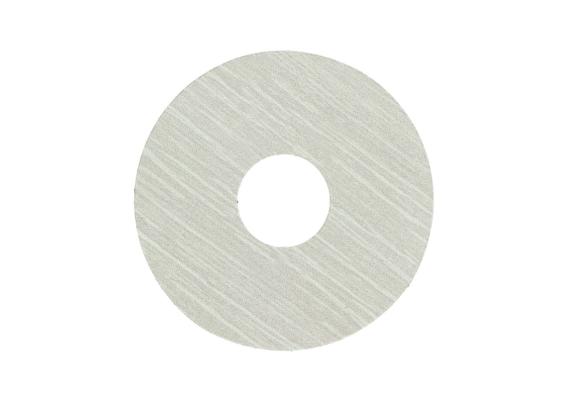 Zelfklevende rozet (17 mm) eiken beige wit