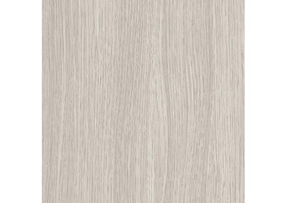 Zelfklevende rozet (17 mm) eiken wit grijs